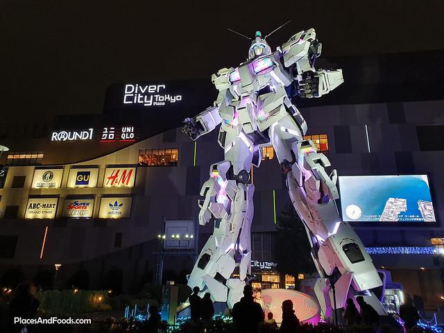 gundam diver city tokyo plaza odaiba