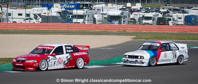 Vauxhall Vectra 888 ST Jason Hughes 3rd vs BMW E30 Garrie Whittaker 4th