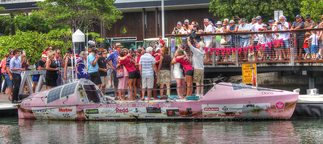 Coxless Crew Pacific Rowers Reaches Cairns 1 - Jan 25, 2016