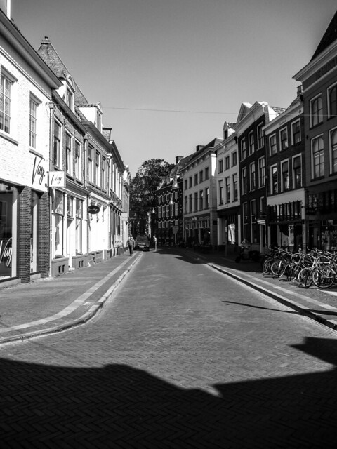 My view on the Sassenstreet Zwolle