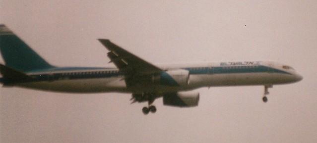 EL-AL at LHR 2007 (scan)