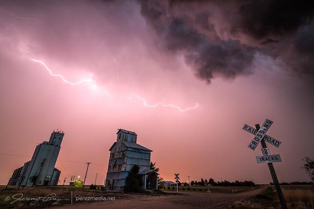 23 May 2021 — Wheeler, Kansas — Lightning Display