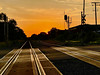 The 2021 Photo Project - June 16 - Day 167 - Sunset at the Rails