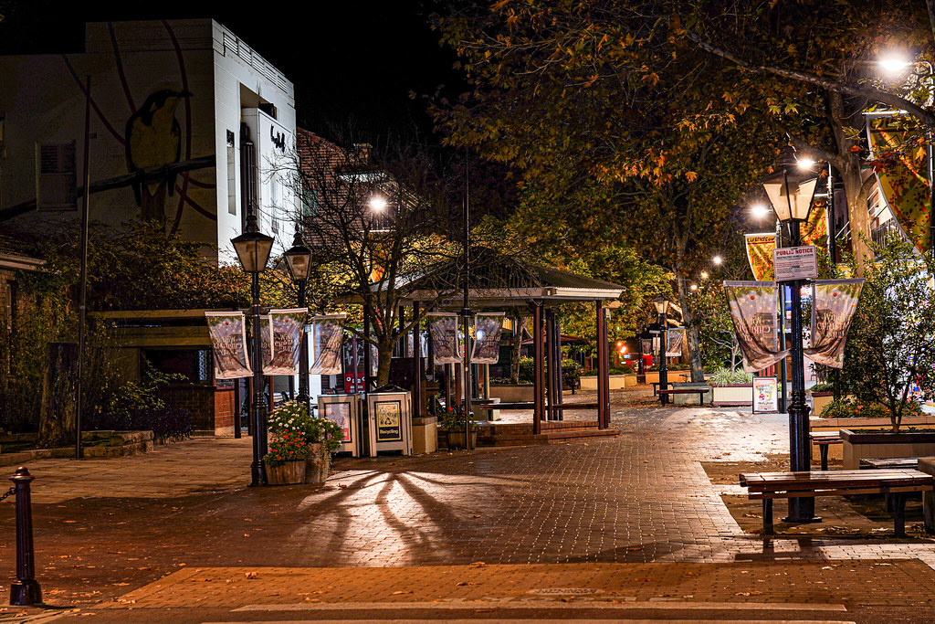 A winters night in Windsor NSW