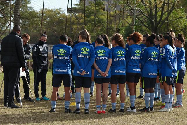 Jogo-Treino Gurias Gremistas Sub-18 x Sub-16