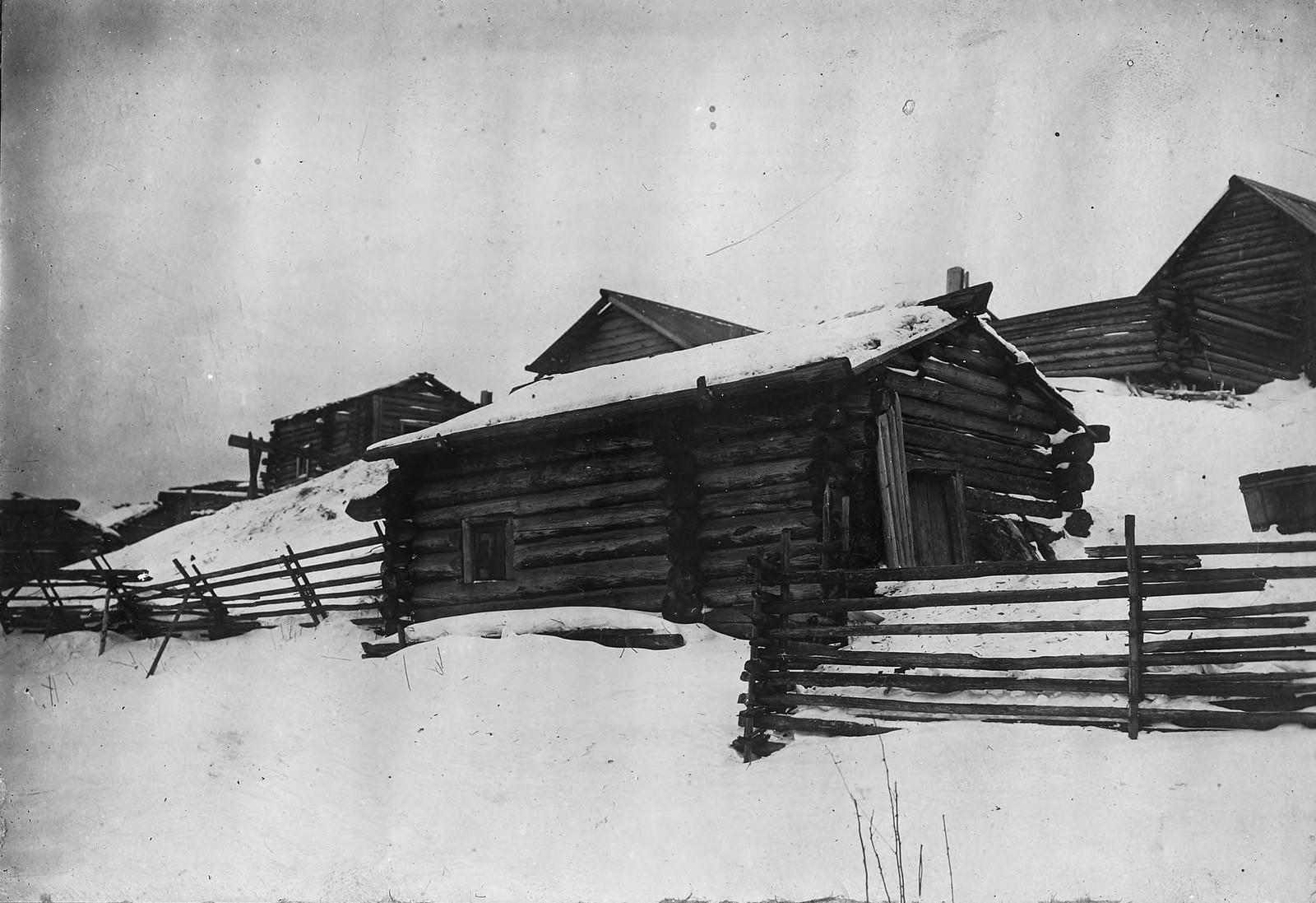 Баня в селе Богучанском Енисейского уезда