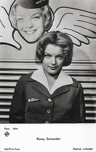 Romy Schneider in Ein Engel auf Erden (1959)