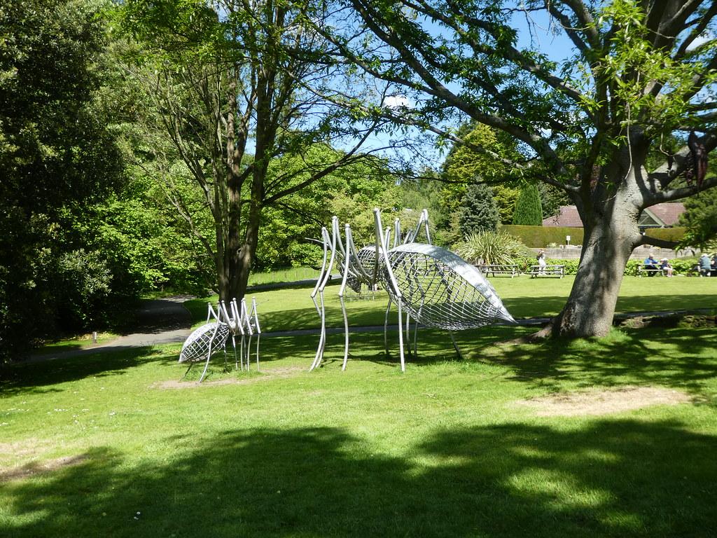 Artwork in the Durham University Botanic Garden