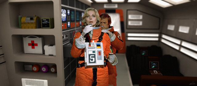 Space: 1999 - Science Pod Helena and Alan