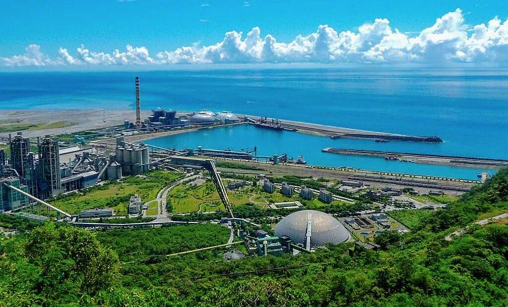 20210617和平電廠環評變更卡關。「和平港電廠三合一」循環經濟園區,資料照,照片來源:台泥