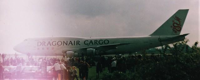 DragonAir Cargo B747 at Manchester