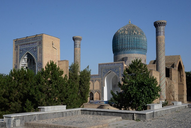 Mausoleo de Amir Temur (Tamerlán). Siglo XIV-XV