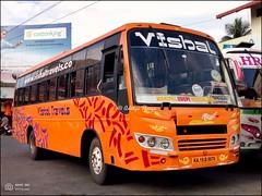 KA19D9676, Vishal Travels Mangalore Udupi Manipal Express