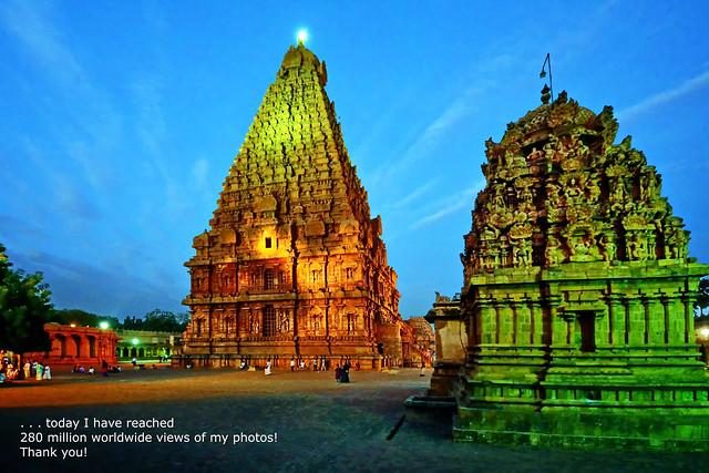 India - Tamil Nadu - Thanjavur - Brihadeshvara Temple - 543d