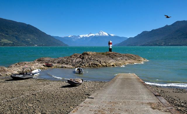 Cochamo lighthouse, Patagonia, Chile