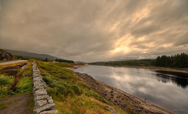 Roy Bridge Reservoir, Scotland.
