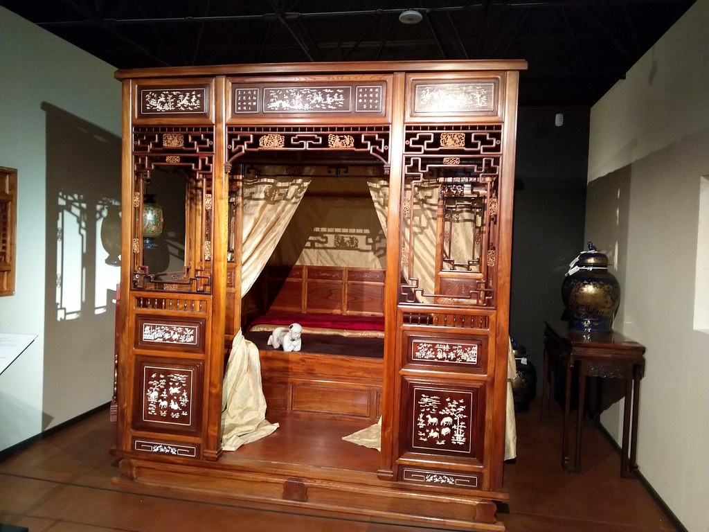 Chinese Bed, Durham Oriental Museum