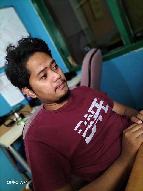 Hasil Kamera Portrait Oppo A74