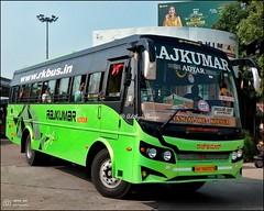 KA19AD0979, Rajkumar Adyar Leyland Cheetah BSIV Shakti coach Karur built, Kollur Mangalore Express