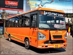 KA20D9597, Sri Durgamba - Sri Devi Banashankari Express, ACGL Tata Ultra