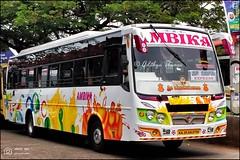 KA20AA8756, Ambika Tata Ultra Peetee coach built, Udupi Kundapura Express
