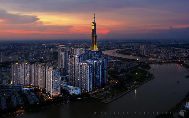 Sunset on Saigon