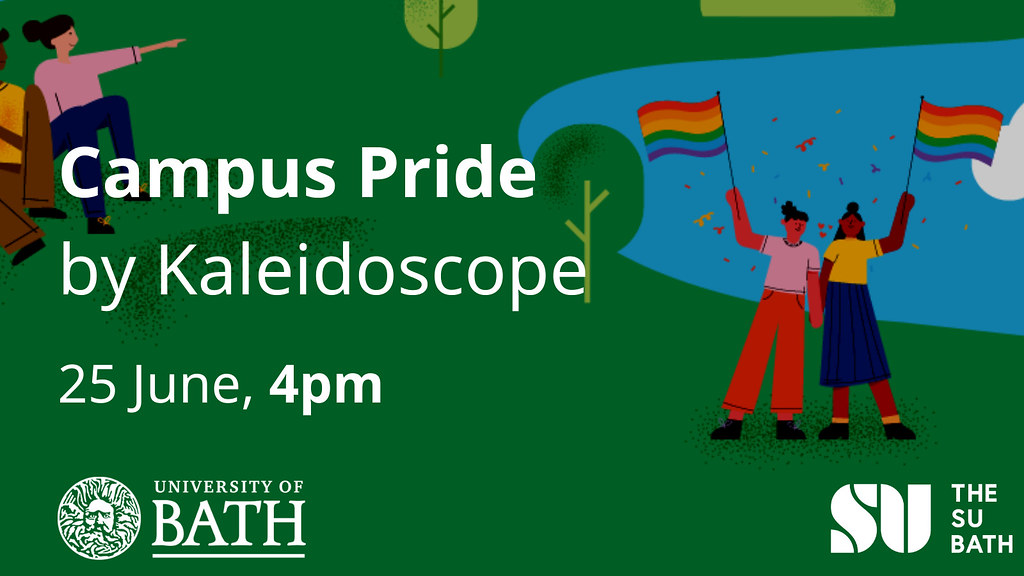Join us for Campus Pride by Kaleidoscope