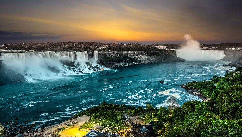 Niagara Falls as you haven't seen it, just kidding 😀
