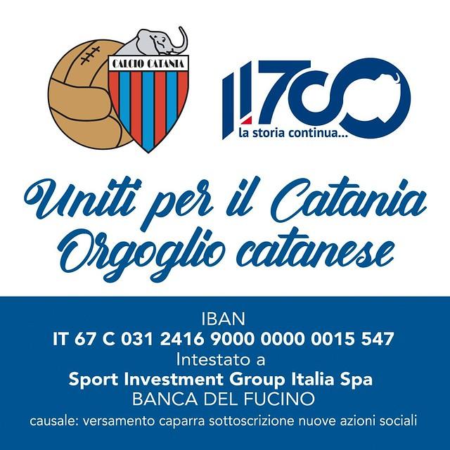 Uniti per il Catania
