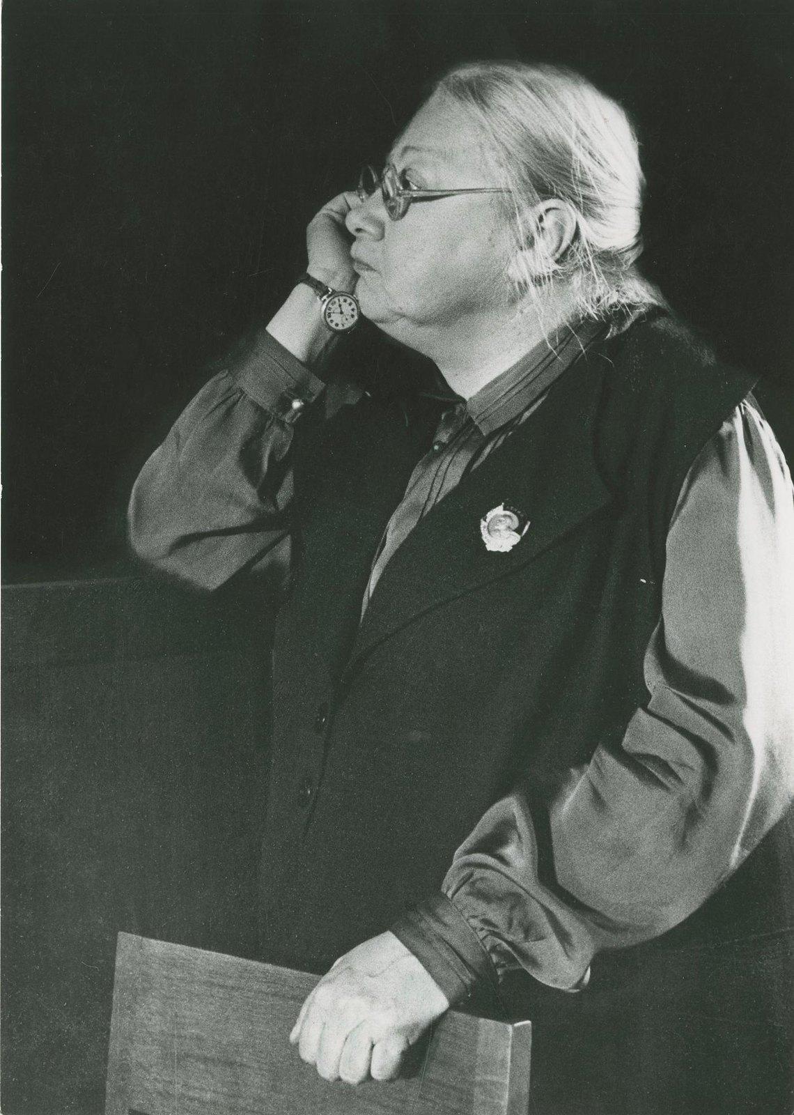1936. Надежда Константиновна Крупская