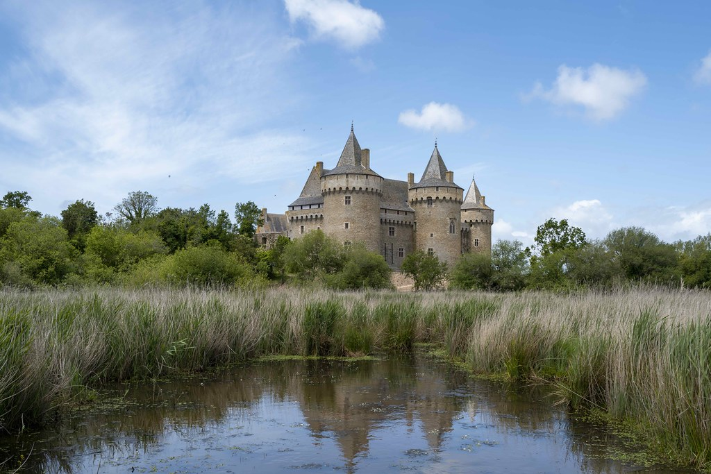 Ma muse aime les beaux châteaux