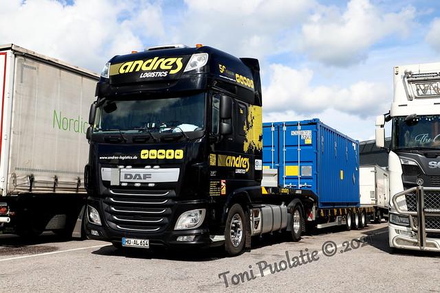 Andres Logistics HU AL 614