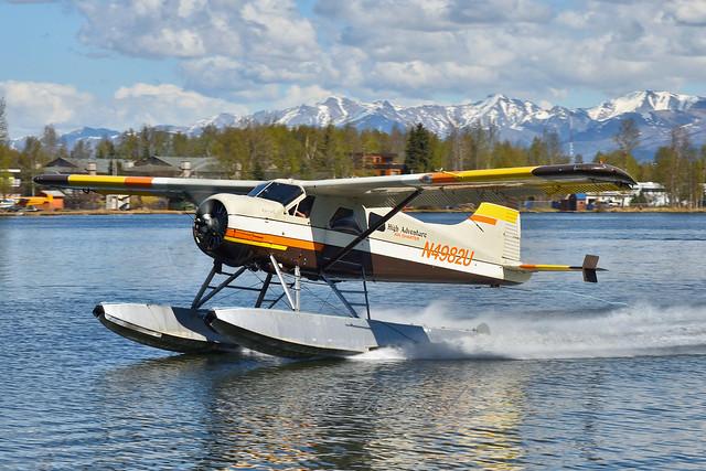 N4982U High Adventure Air Charter (W/O mid-air collision)