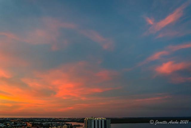 Darwin Autumn Sunset