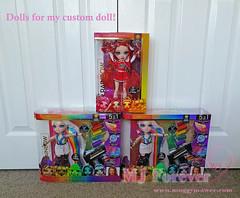 Custom doll dolls