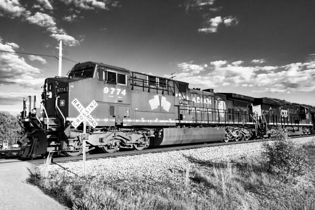 Evening Coal Train
