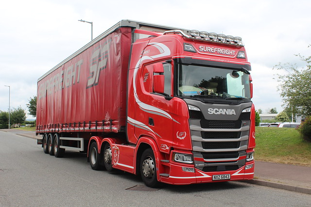 Scania S450 - Surefreight