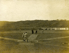 Mayor Charles Thayer throws out ceremonial first pitch  002nwreds1907