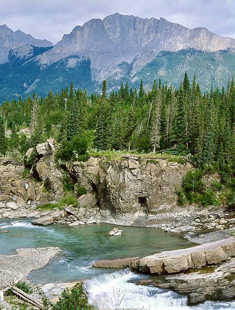 Kananaskis Seebe Alberta Canada 2nd August 1982