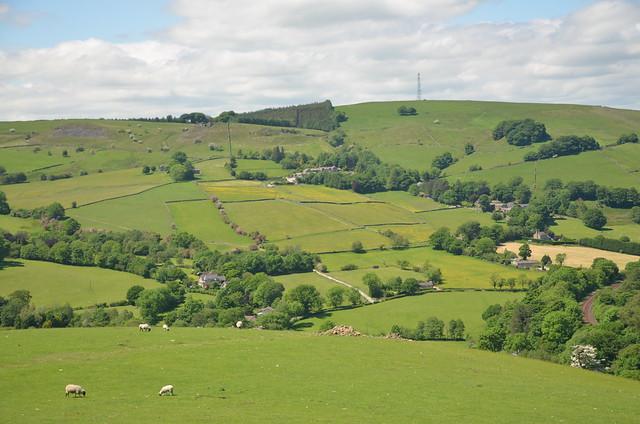Ladder Hill, Peak District National Park, Derbyshire, England.