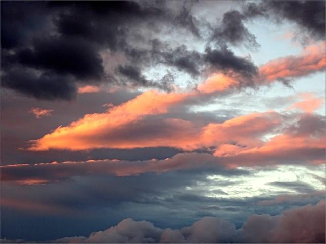 Un bel abstrait cadeau du ciel