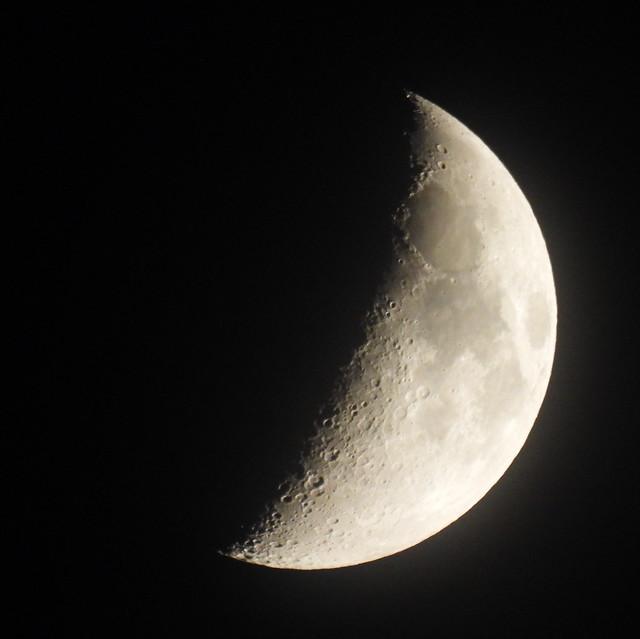 Moon from Riverside CA 20250