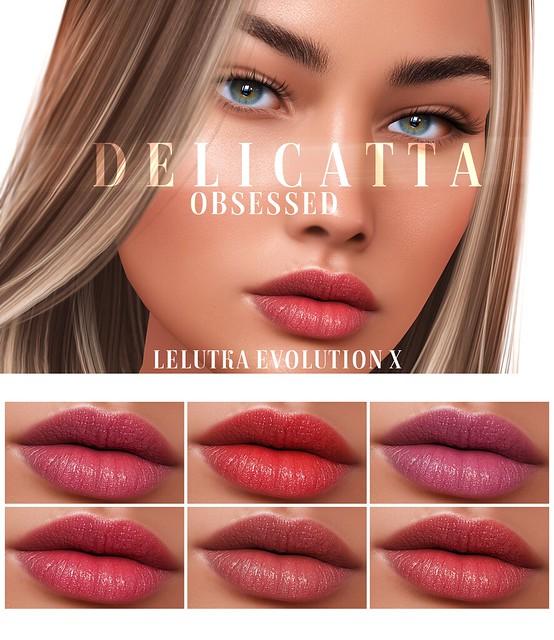 Delicatta - Obsessed (LeLUTKA Evolution X)