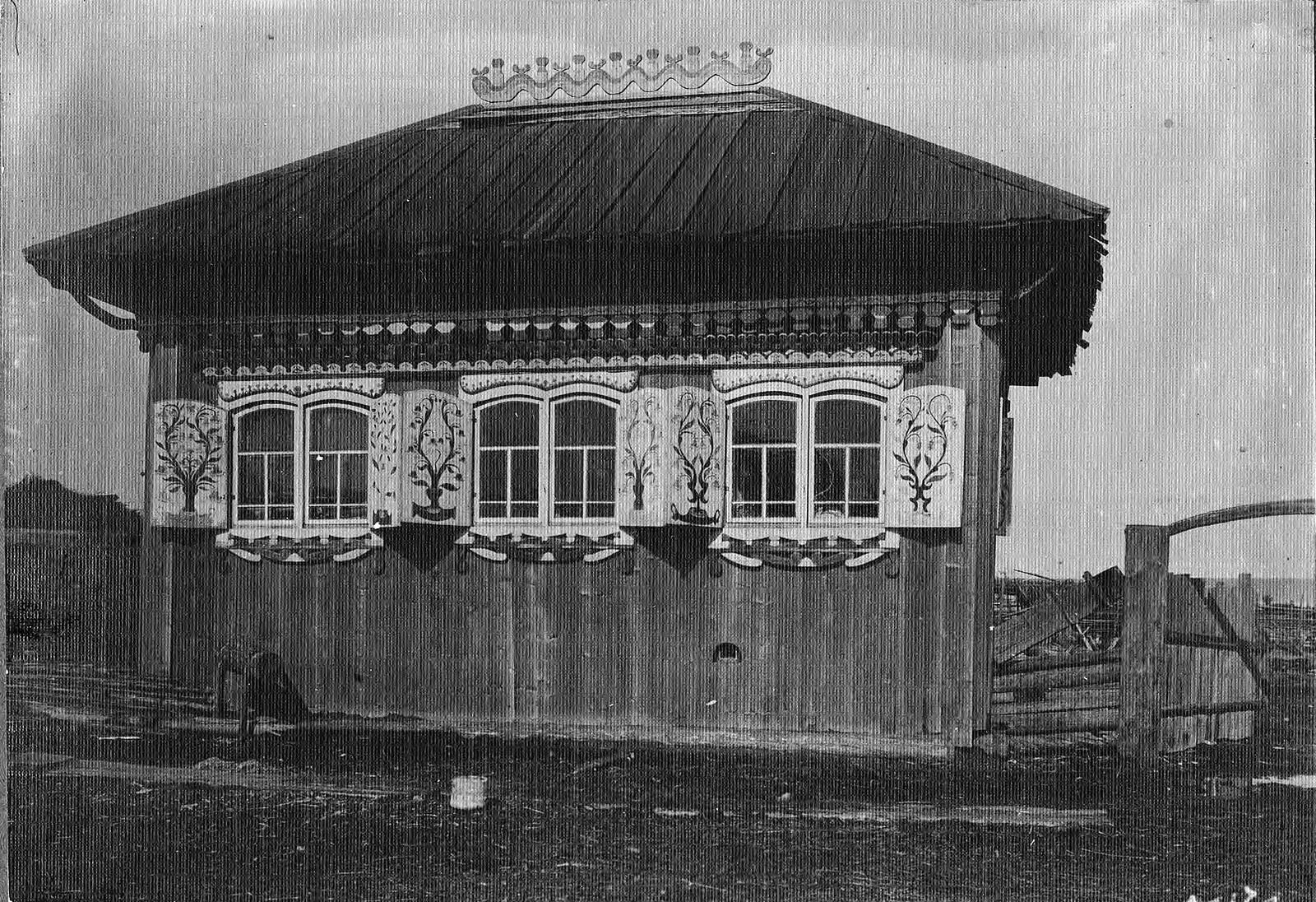 Изба в деревне Выдриной Канского уезда.