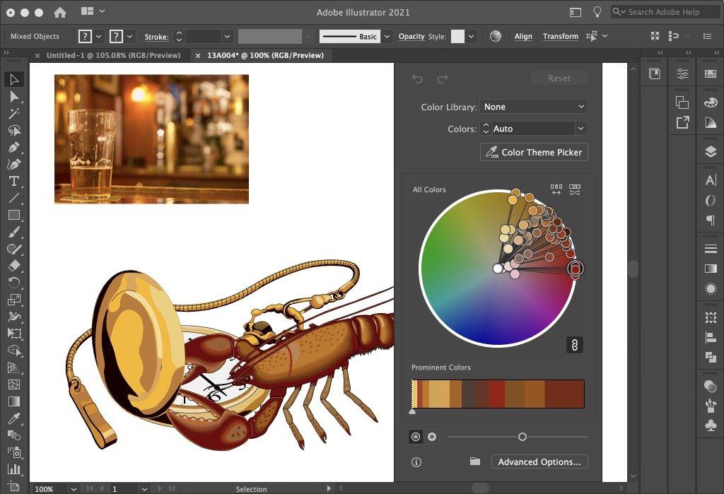 Working with Adobe Illustrator 2021 v25.3.0.385 full