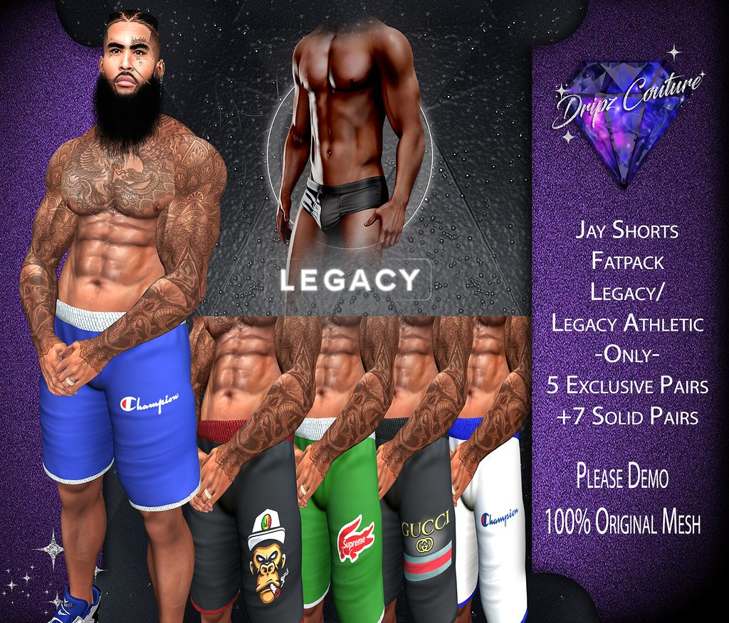 New! Jay Shorts Fatpack – Legacy