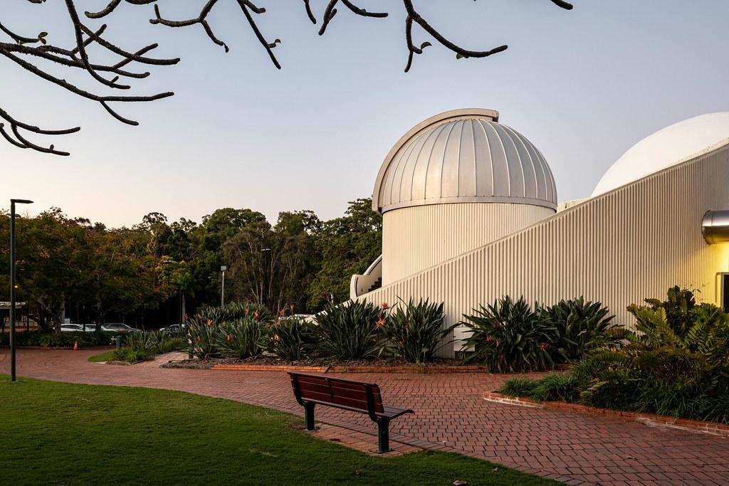 The Sir Thomas Brisbane Planetarium (Mount Coot-tha Botanics, South East Queensland)