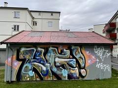 Danmarksplass Graffiti June 2021