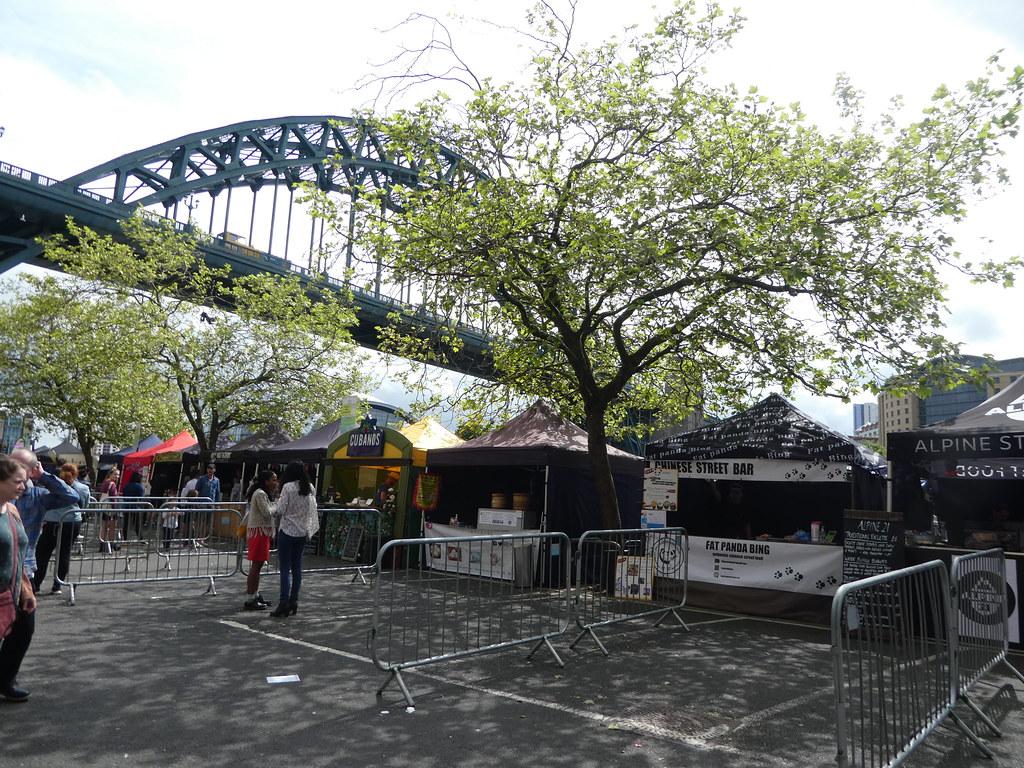 Sunday market, Newcastle quayside