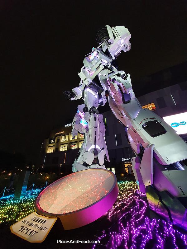 unicorn gundam tokyo